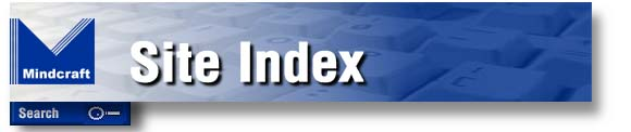 Mindcraft's Site Index